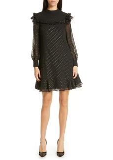 Ted Baker London Rebekha Joyous High Neck Ruffle Dress