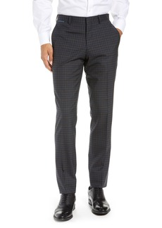 79f0f974cba9e Ted Baker London Reese Flat Front Check Wool Trousers