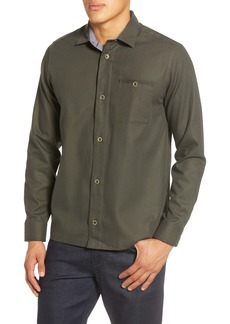 Ted Baker London Regle Slim Fit Button-Up Overshirt