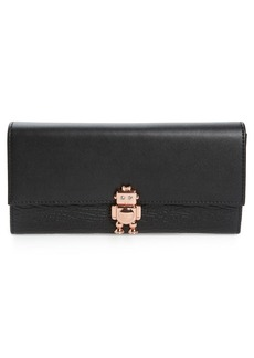 Ted Baker London Robot Leather Matinée Wallet