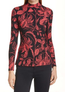 Ted Baker London Rococo Print Fitted Top