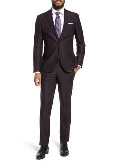 Ted Baker London Roger Extra Trim Fit Solid Wool Suit
