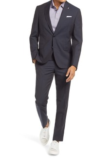 Ted Baker London Roger Trim Fit Microcheck Wool Suit
