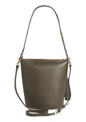 Ted Baker London Rojin Leather Bucket Bag