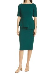 Ted Baker London Romolaa Peplum Detail Dress