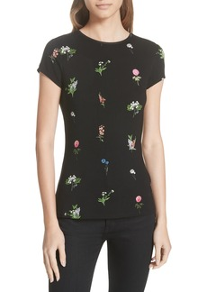 Ted Baker London Roobey Florence Fitted Tee