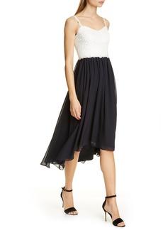 Ted Baker London Rosemry Daisy Dip Hem Dress