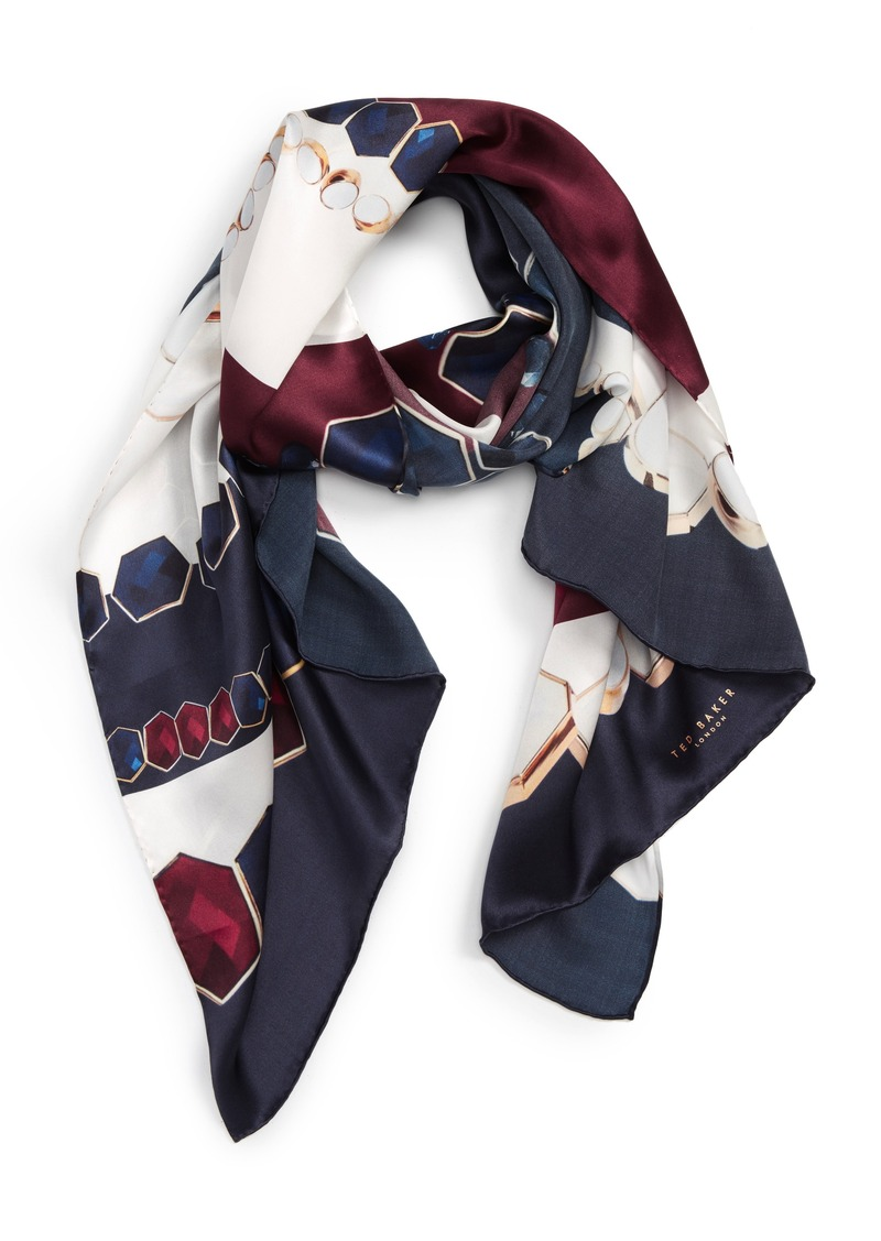 b7221864c95849 Ted Baker Ted Baker London Rowing Stripe Silk Scarf