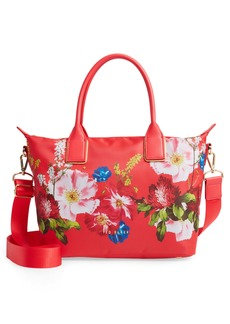 Ted Baker London Rubby Berry Sundae Small Nylon Tote