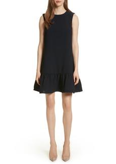 Ted Baker London Ruffle Hem A-Line Dress