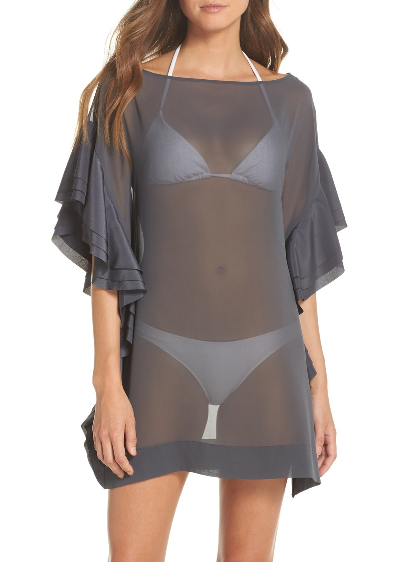 d7057be60a Ted Baker Ted Baker London Ruffle Square Cover-Up Dress | Swimwear