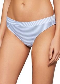 Ted Baker London Ruffle Stripe Bikini Bottoms