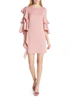 Ted Baker London Ruffle Tunic Dress