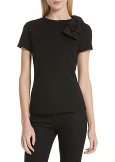 Ted Baker London Sadlie Joyous Bow Shoulder Top