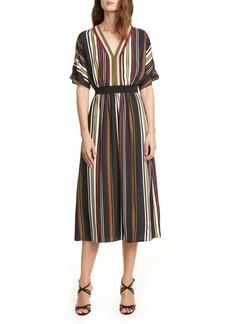 Ted Baker London Safiiya Stripe Short Sleeve Dress