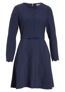 Ted Baker London Scalloped A-Line Dress