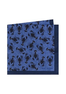 Ted Baker London Scorpion Silk Pocket Square