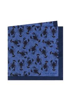 Ted Baker London Scorpion Silk Pocket Square