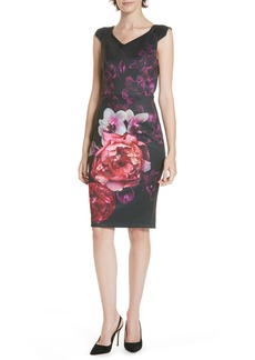 Ted Baker London Semanj Splendour Sheath Dress