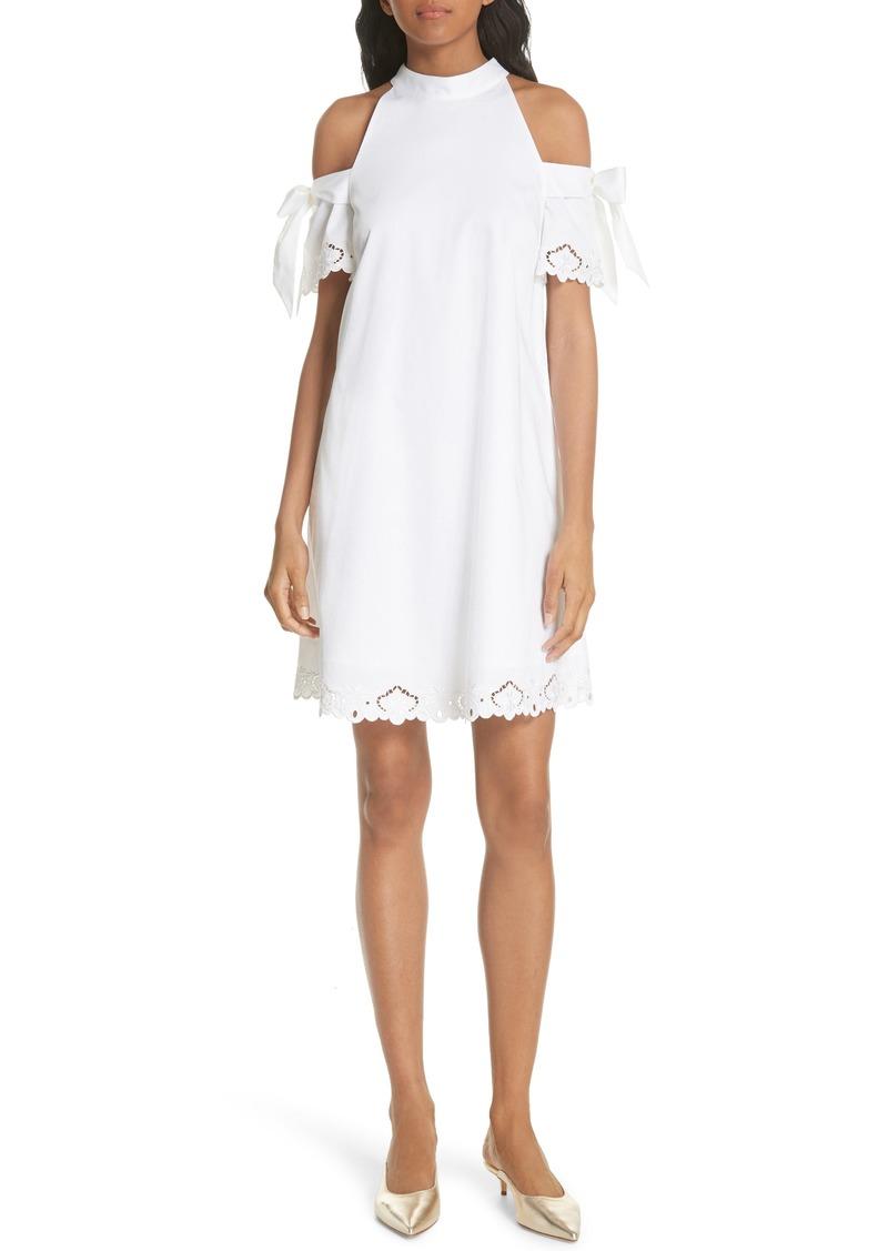 1b21687cb994 Ted Baker Ted Baker London Semarra Embroidered Cold Shoulder Dress ...