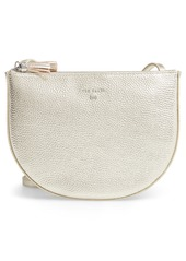 Ted Baker London Suzzane Semi Circle Double Zip Leather Crossbody Bag