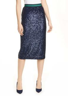 Ted Baker London Sequin Pencil Skirt
