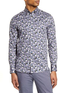 Ted Baker London Shecan Slim Fit Floral Button-Up Shirt