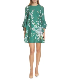 Ted Baker London Shicago Graceful Waterfall Sleeve Dress