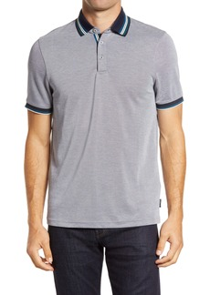 Ted Baker London Shred Tipped Piqué Polo
