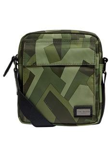 Ted Baker London Signle Camo Crossbody Bag