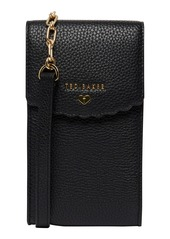 Ted Baker London Siiindy Scallop Leather Phone Crossbody Bag
