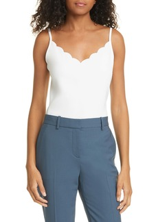 Ted Baker London Siina Scallop Neckline Camisole