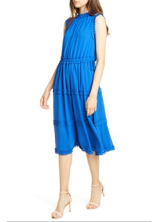 Ted Baker London Sinita Frill Detail Sleeveless Dress