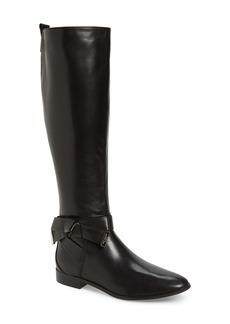 Ted Baker London Sintial Knotted Strap Knee High Boot (Women)