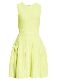 Ted Baker London Sleeveless Knit Fit & Flare Dress