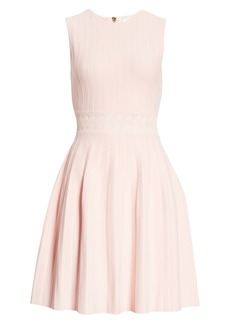 Ted Baker London Sleeveless Knit Fit & Flare Dress