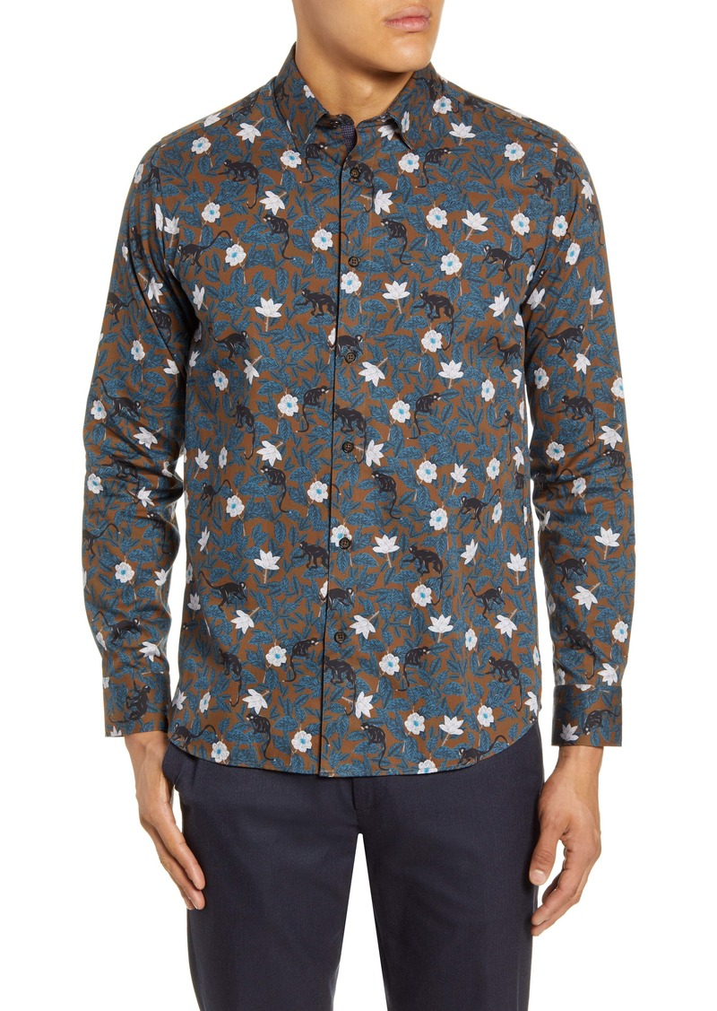 Ted Baker London Slim Fit Button-Up Shirt