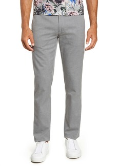 Ted Baker London Slim Fit Flat Front Pants