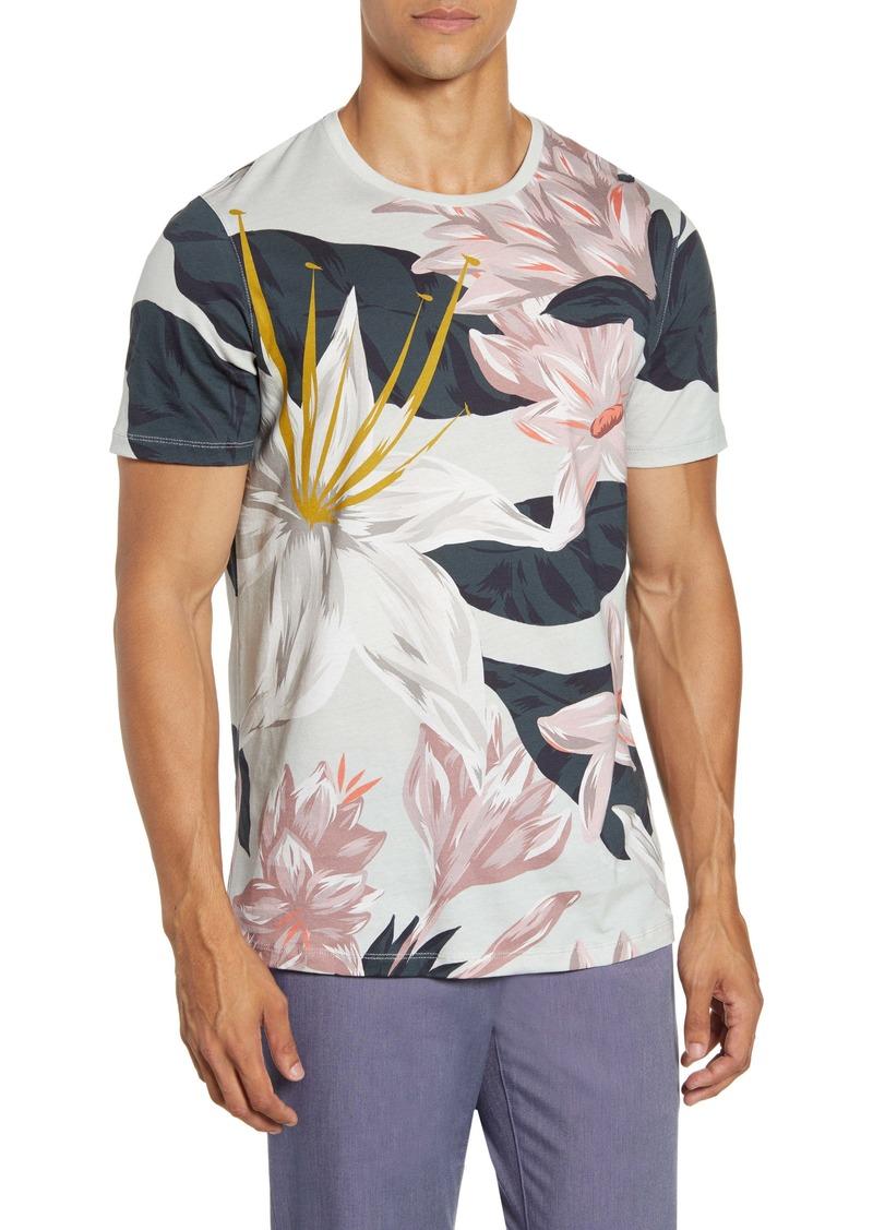 Ted Baker London Slim Fit Floral T-Shirt