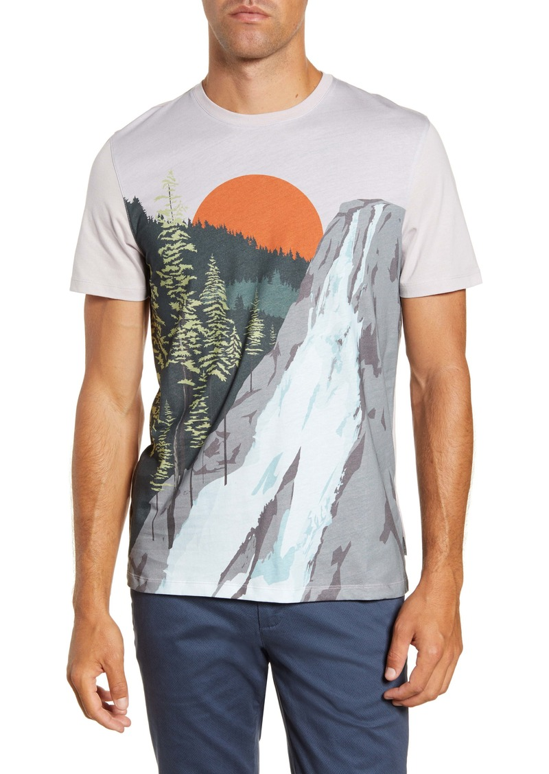 Ted Baker London Slim Fit Graphic T-Shirt