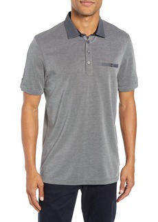Ted Baker London Slim Fit Marsh Soft Touch Piqué Polo