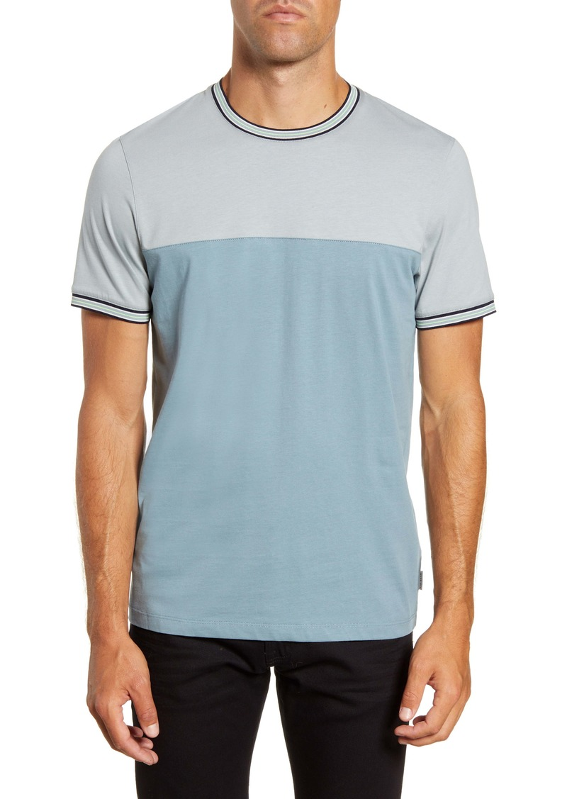 Ted Baker London Slim Fit Panel T-Shirt