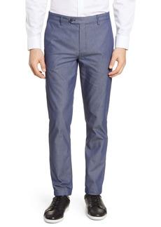 Ted Baker London Slim Fit Plain Front Pants
