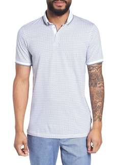 Ted Baker London Aven Slim Fit Print Polo