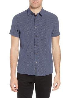 Ted Baker London Slim Fit Short Sleeve Sport Shirt