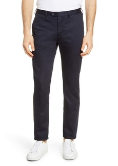 Ted Baker London Slim Fit Smart Satin Chino Pants