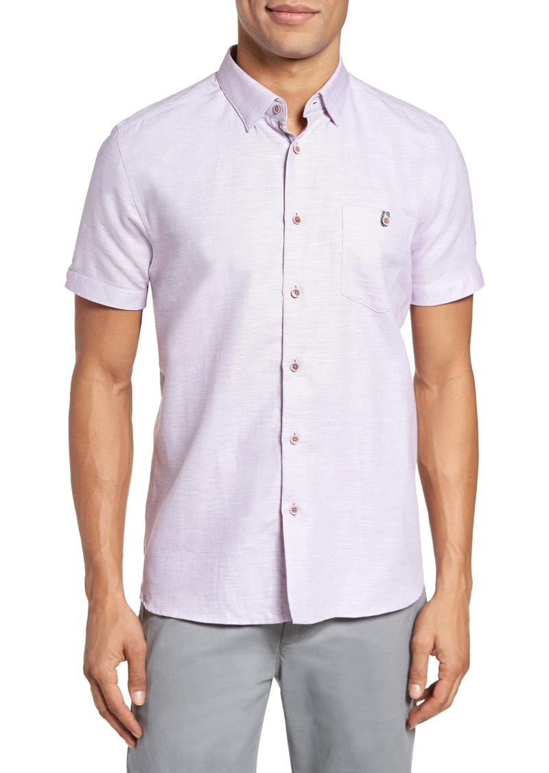 03f84edaf81608 Ted Baker Ted Baker London Slim Fit Sport Shirt