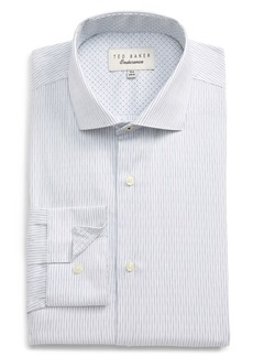 Ted Baker London Slim Fit Stripe Dress Shirt