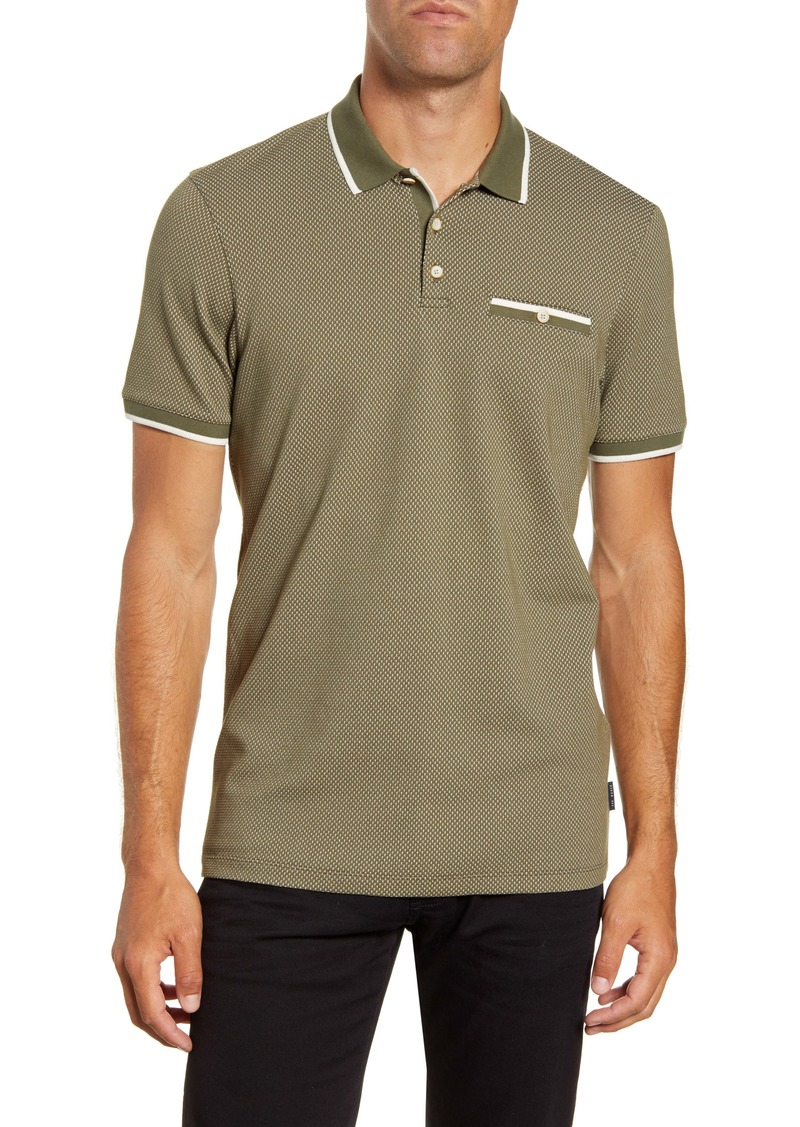 Ted Baker London Slim Fit Textured Polo