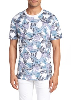 Ted Baker London Slim Fit Tinned Floral Graphic T-Shirt